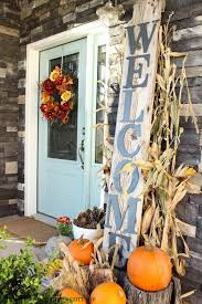 fall decorations for outside fall front door decorating handballtunisie org