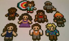 firefly serenity inspired bead sprites magnets ornaments or
