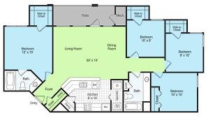 4 Bedroom 2 Bath House Plans Amazing Modest Cheap 3 Bedroom Apartments Download 4 Bedroom