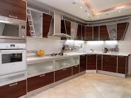 modern kitchen countertop ideas kitchen ideas l shaped brown modern oak kitchen counter with white