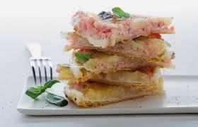 cuisiner le basilic clafoutis de mozzarella jambon et basilic c d in cucina
