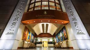 New Orleans Map Of Hotels by Intercontinental New Orleans Hotels In New Orleans