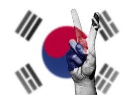 Korea Flag Icon Free Images Hand Country Travel Finger Symbol Banner Flag