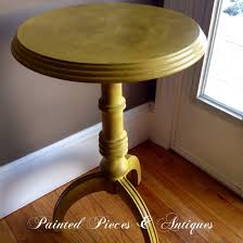 Ethan Allen Tables by Vintage Ethan Allen Table Painted In Annie Sloan English Yellow