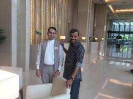 Front Desk Manager Hotel With Vishal Virmani Front Office Manager Picture Of Trident
