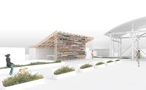 folly 2016 winners hou de sousa to build pavilion of u201csticks u201d for