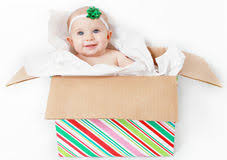 baby present royalty free stock photography image 1979477