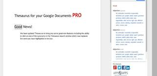 thesaurus beautiful the ultimate guide to google docs hiver blog