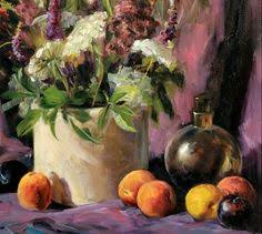 Color And Paint Welcome To My Studio Helen Van Wyk Oil Painting Lesson Clip