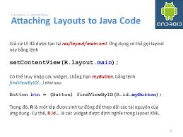 layout có nghia là gì android user interfaces using xml layouts ppt download