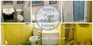decor you adore beach house bath remodel stunning before u0026 after