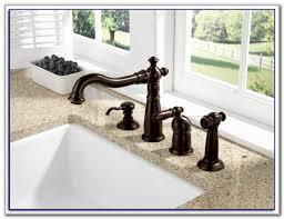 delta oil rubbed bronze kitchen faucet delta victorian bronze kitchen faucet sinks and faucets home