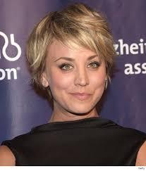 big bang blonde short hair cut pictures kaley cuoco hair google search pixie fashion pinterest
