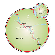 Dijon France Map by Burgundy Paris To Dijon Bike And Barge Tour France Tripsite