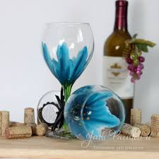 awesome how to paint flowers on wine glasses 24 for your with how