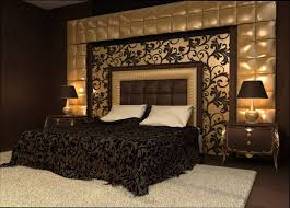 chambre baroque noir et chambre baroque moderne