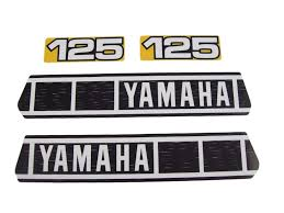 dc plastics decals and graphics yamaha 1980