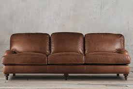 Large Leather Sofa Sofa Cheap Roll Arm Sofa Restoration Hardware