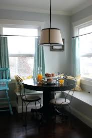 Cozy Breakfast Nook Perfect Height Table For A Breakfast Nook In Kitchen Low Enough To