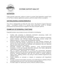 Best Network Administrator Resume by Application Support Manager Job Description Application Support