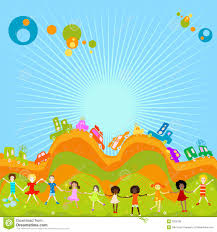 group of kids playing royalty free stock image image 2536196