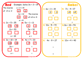solving two step equations scaffolded differentiated rage sheet by