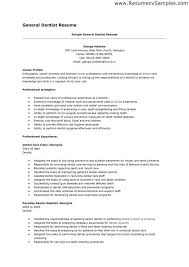 Dental Assistant Job Description For Resume Dental Resume Samples Dental Assistant Resume Sample Tips Resume
