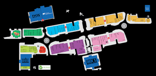 Orlando Premium Outlets Map by Mall Map For Clay Terrace A Simon Mall Located At Carmel