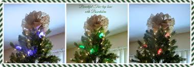 make it easy crafts easy tree top bow tutorial with sparkle