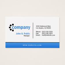 Standard Business Card Format Design Business Cards U0026 Templates Zazzle