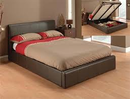 Ottoman Faux Leather Bed Julian Bowen Faux Leather Ottoman Bed Buy At