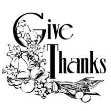 thanksgiving religious clip in black white happy thanksgiving