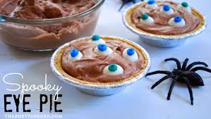 the kurtz corner easy diy halloween treats chocolate eye pie