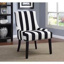 Black And White Striped Accent Chair Transitional Navy And White Accent Chair Free Shipping Today