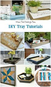 Trays For Coffee Table by Diy Farmhouse Style Tray Sweet Pea