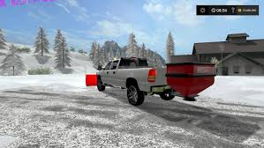 what do salt rock ls do 2002 silverado 2500 plow truck with working hitch mount salter v3
