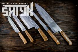 professional kitchen knives set professional kitchen knife set engraved chef knife set
