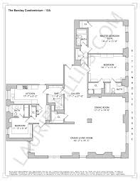 Floor Plan Measurements The Barclay Condominium Extraordinary Home Listed With Laurie