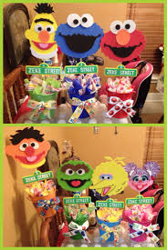 Birthday Table Decorations by Best 25 Sesame Street Decorations Ideas On Pinterest Elmo Party
