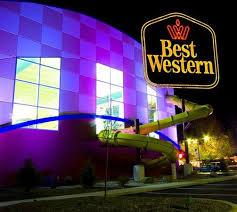 time lights picture of buccaneer bay indoor aquatic center