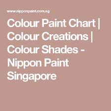 colour paint chart paint charts color paints and singapore