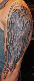 wing tattoos on arm fantastic