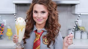 harry potter butterbeer milkshake nerdy nummies youtube