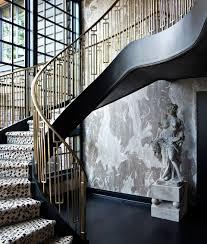 Ibc Stair Design by Mid Century Style Geometric Iron Railing Vintage Metal