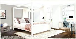 White King Size Bed Frame White 4 Poster Bed White Four Poster King Size Bed King Size Four