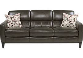Grey Leather Sofa And Loveseat Leather Sofas Couches