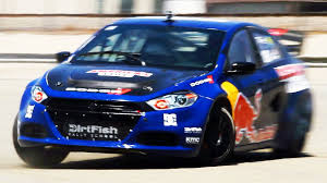 All Wheel Drive Dodge Dart Riding With Travis Pastrana In His Dodge Dart Rally Car The J