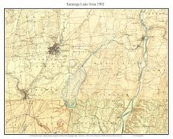 Usgs Quad Maps Old Usgs Topo Maps Of Saratoga County New York
