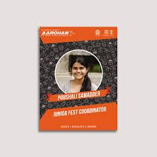 id card graphic design aarohan 2016 id card design on student show