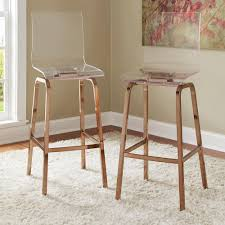 homesullivan penny 29 in champagne brass swivel bar stool set of